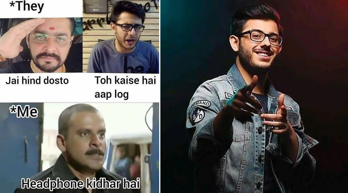 sur YT:  CarryMinati Birthday Memes et blagues drôles: de la torréfaction de TikTokers au slogan 'To Kaise Hai Aap Log', découvrez Hilariously Dank Memes alors que Ajey Nagar a 21 ans  infos