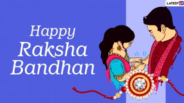 Happy Rakhi – Latest News Information updated on August 03, 2020 | Articles & Updates on Happy Rakhi | Photos & Videos | LatestLY
