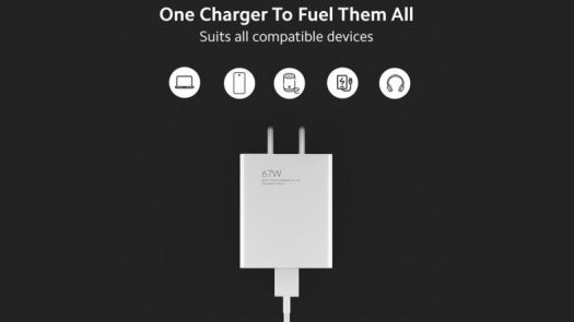 Mi 67W SonicCharge 3.0 Charger