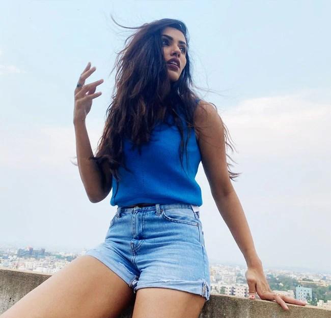 Akshara Gowda Looks Gorgeous in Simple Casual