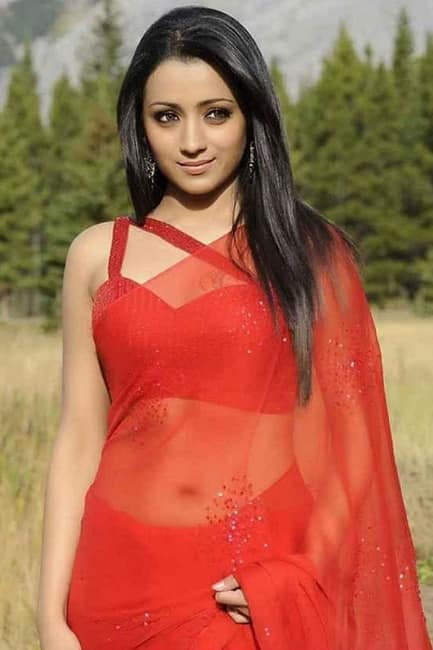 Trisha Krishnan Looks Red Hot In This Picture