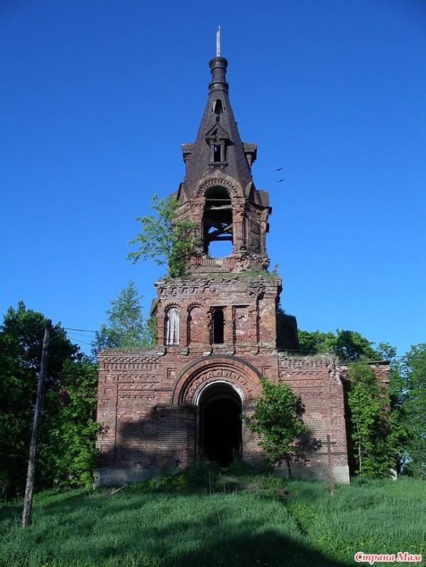 Церковь св. вмч. Георгия Победоносца в Ратчино. - Фото ...
