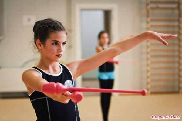 Художественная гимнастика: закулисье (фото с тренировки, ч ...