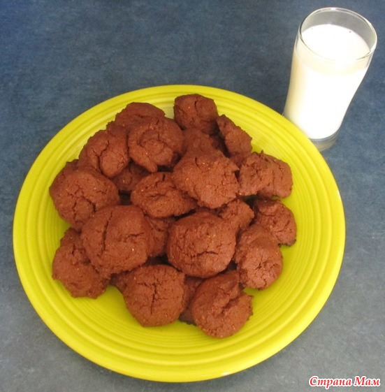 Печенье с какао. - Люблю готовить - Страна Мам