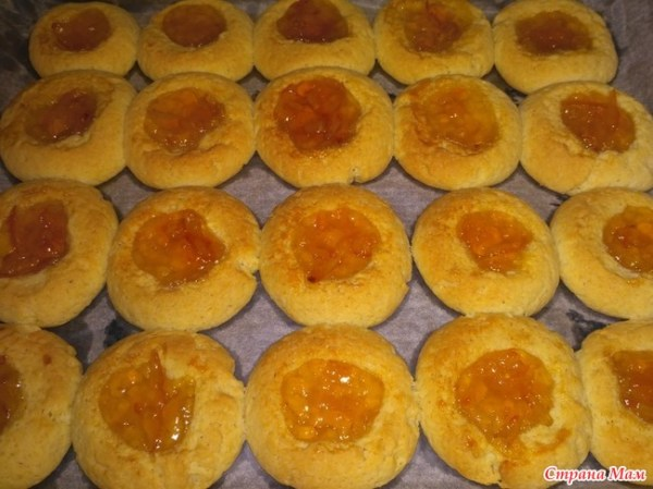 Печенье с апельсиновым джемом - Люблю готовить - Страна Мам