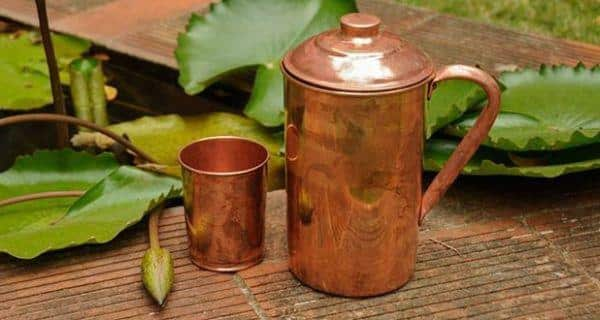 Health benefits fo drinking water from a copper vessel