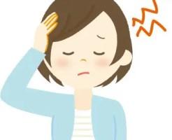 台風 頭痛 めまい
