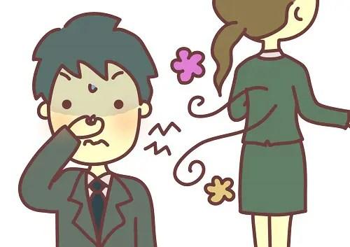 職場 香水 臭い 対策