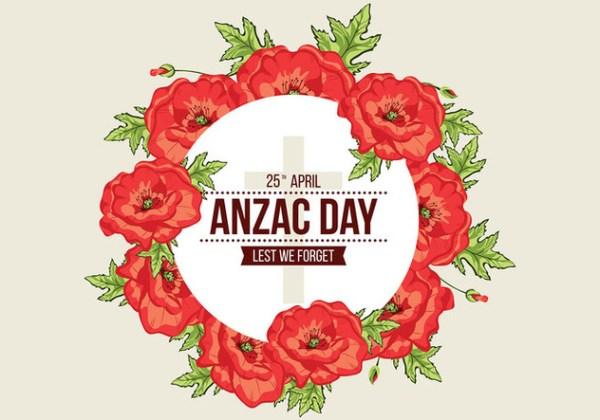 wreath template anzac day # 46