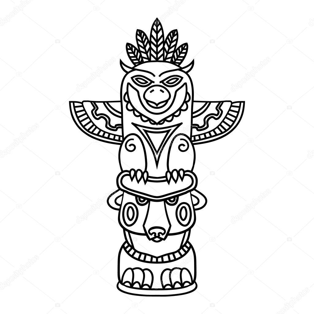 Tiki Clipart