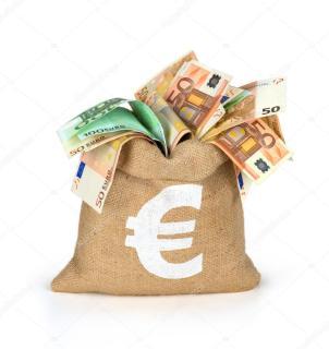 Αποτέλεσμα εικόνας για τσουβάλια με τα ευρώ