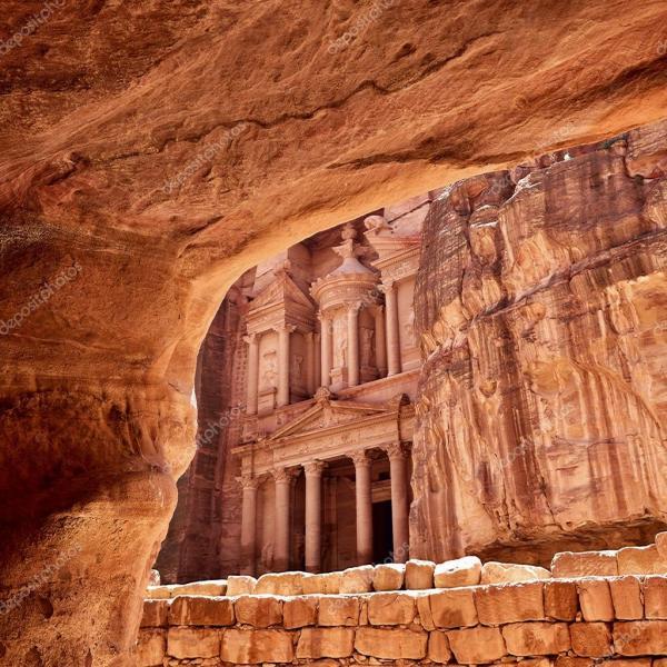 Петра, Иордания — Стоковое фото © znm666 #70199065
