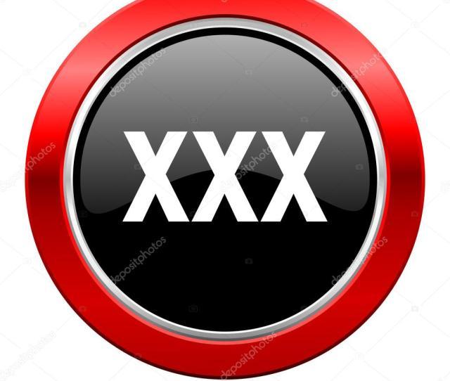 Xxx Icon Porn Sign Stock Photo