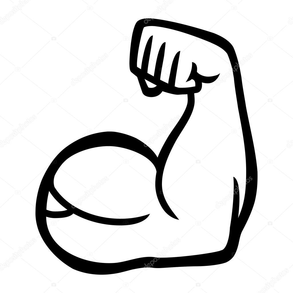Icon Arm Flexing