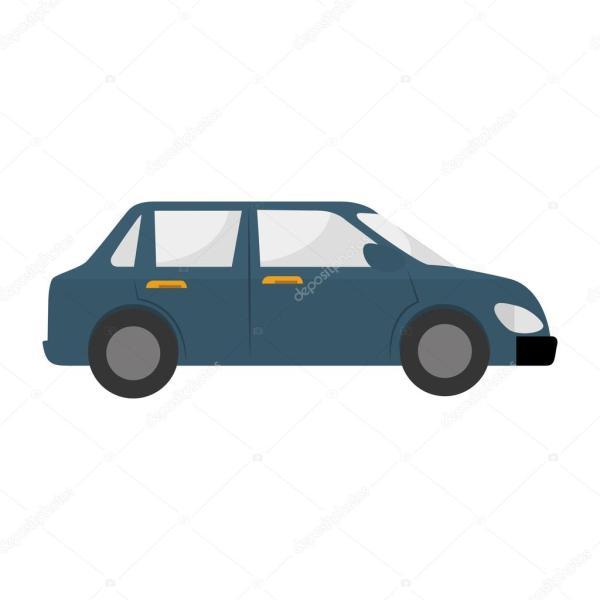 Иконка автомобиля векторные графические — Векторное ...