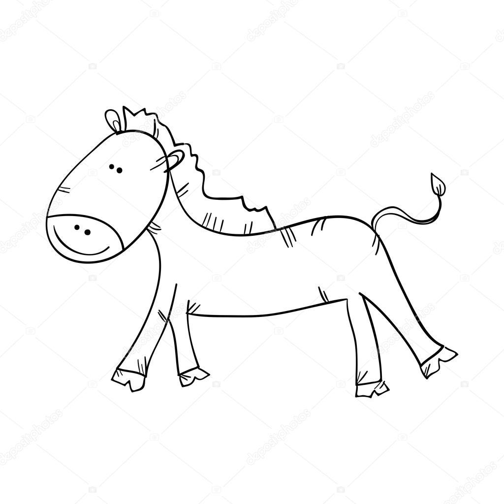 Ko Zwierz Ta Narysowane Design