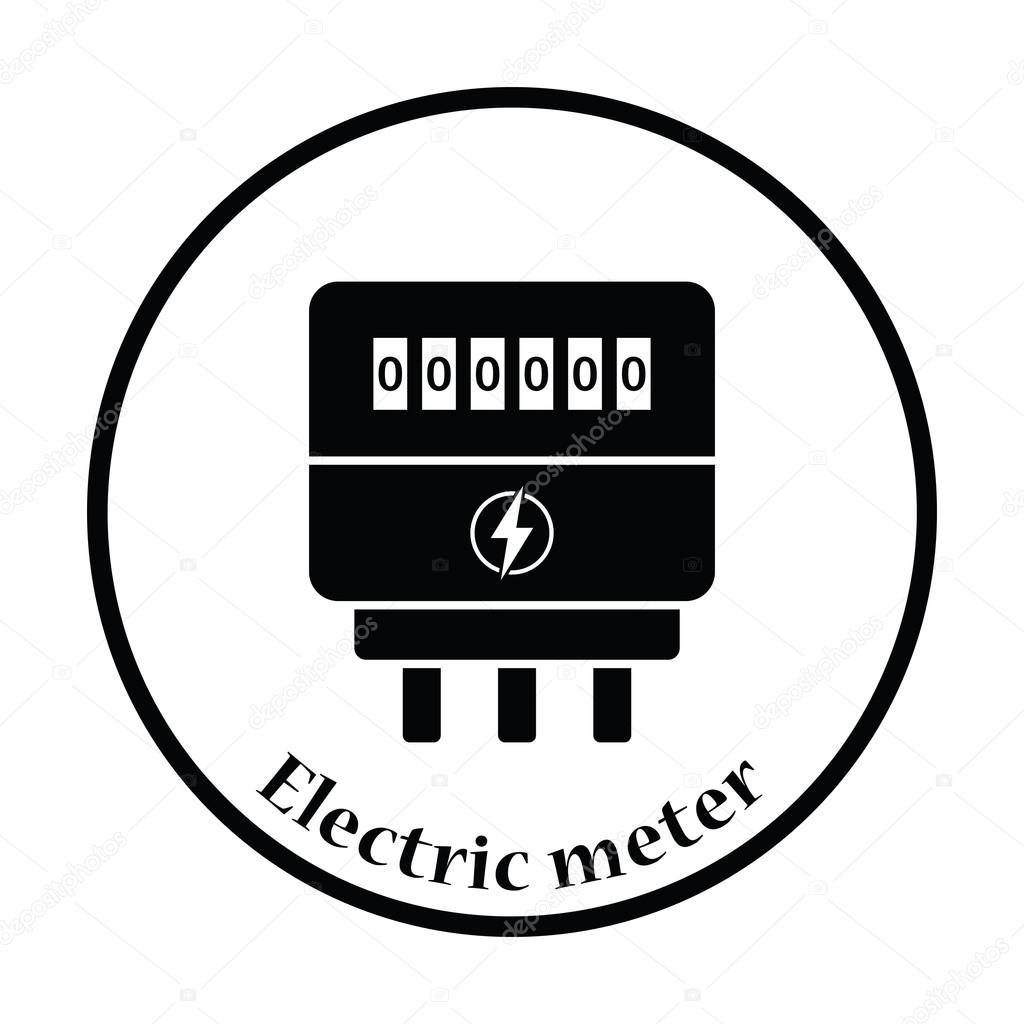 Elektrisk Matare Ikonen
