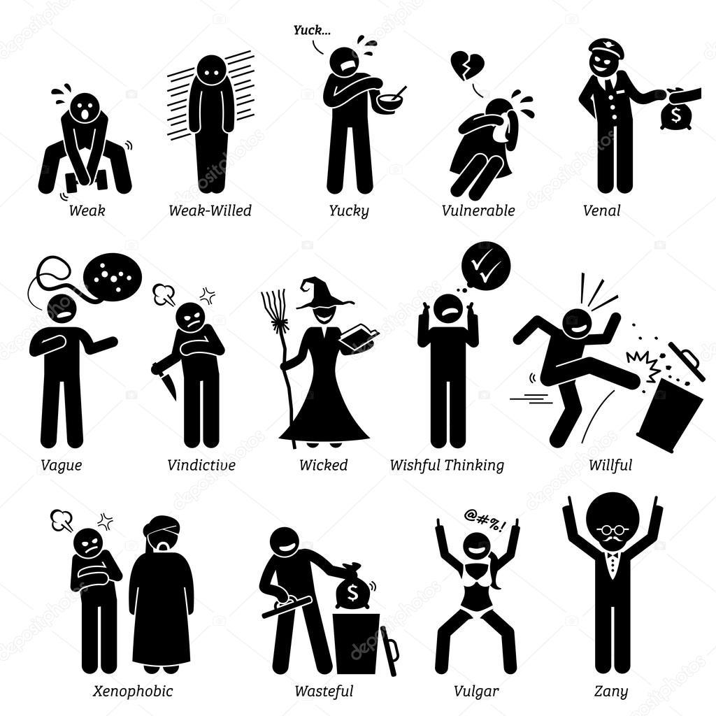 Traits De Caractere Negatifs De Personnalites Stick
