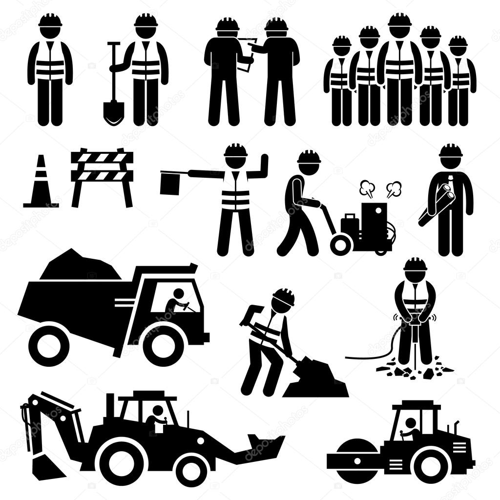 Construction Worker Symbol