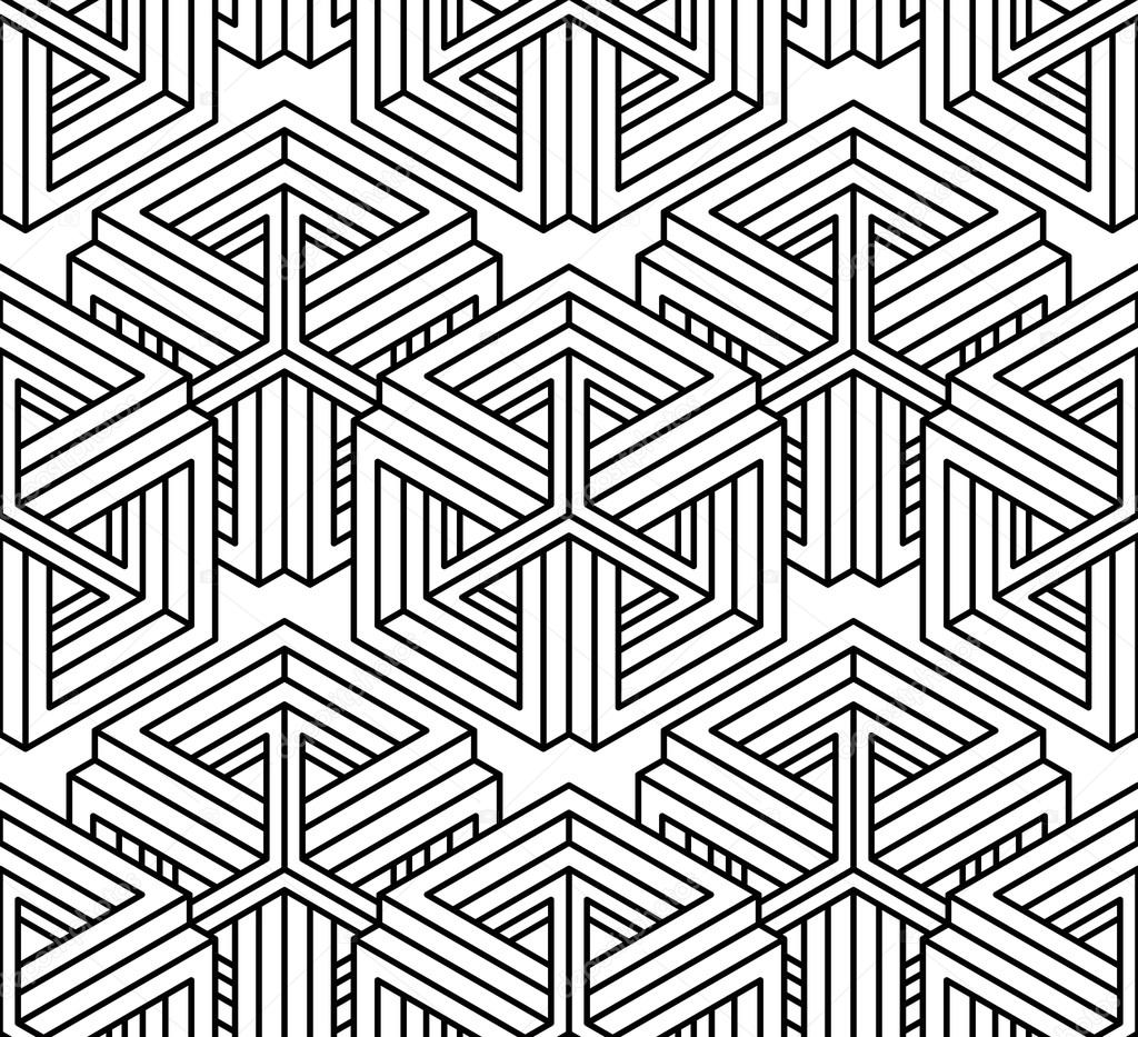 Three Dimensional Repeated Pattern