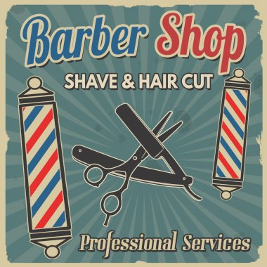 barber flyer free vector eps cdr ai