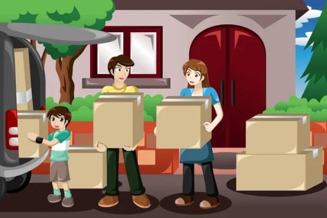 Image result for moving homes illustrations