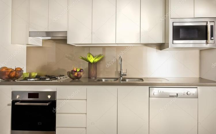 Pictures Kitchen Pantry Cupboards Modern Kitchen With Pantry Cupboards And Counter Top Stock Photo C Jrstock1 118347752