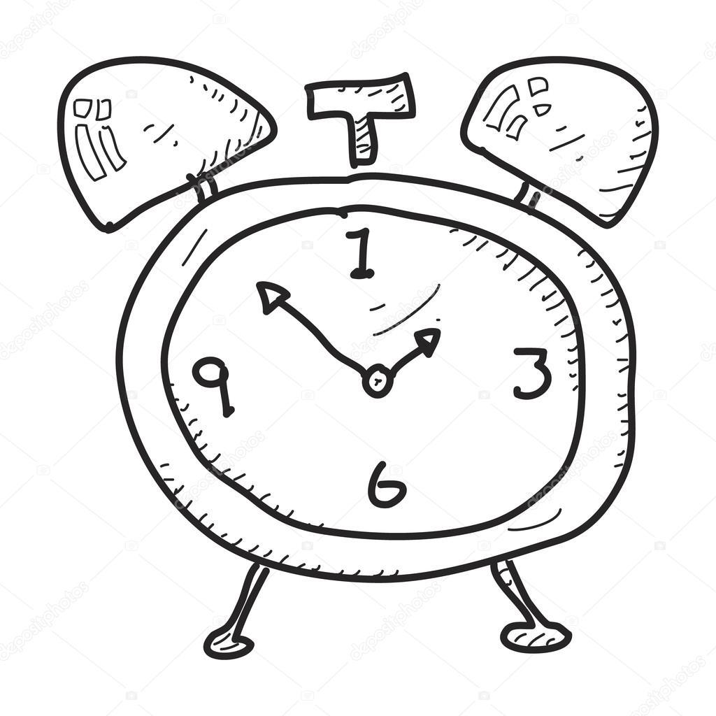 Bir Calar Saat Basit Doodle