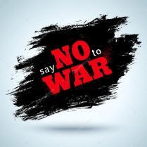Sag Nein zum Krieg — Stockvektor