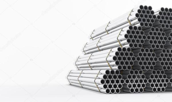 Трубы из нержавеющей стали — Стоковое фото © SectoR_2010 ...