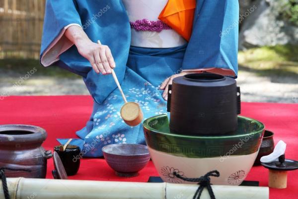 Церемония зелёного чая — Стоковое фото © akiyoko74 #84942706