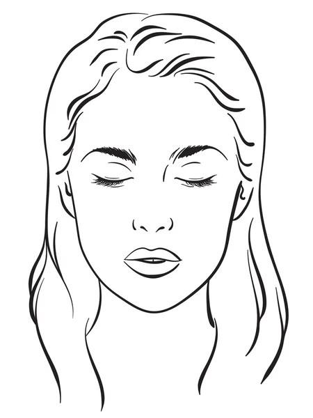 Makeup Face Chart Images