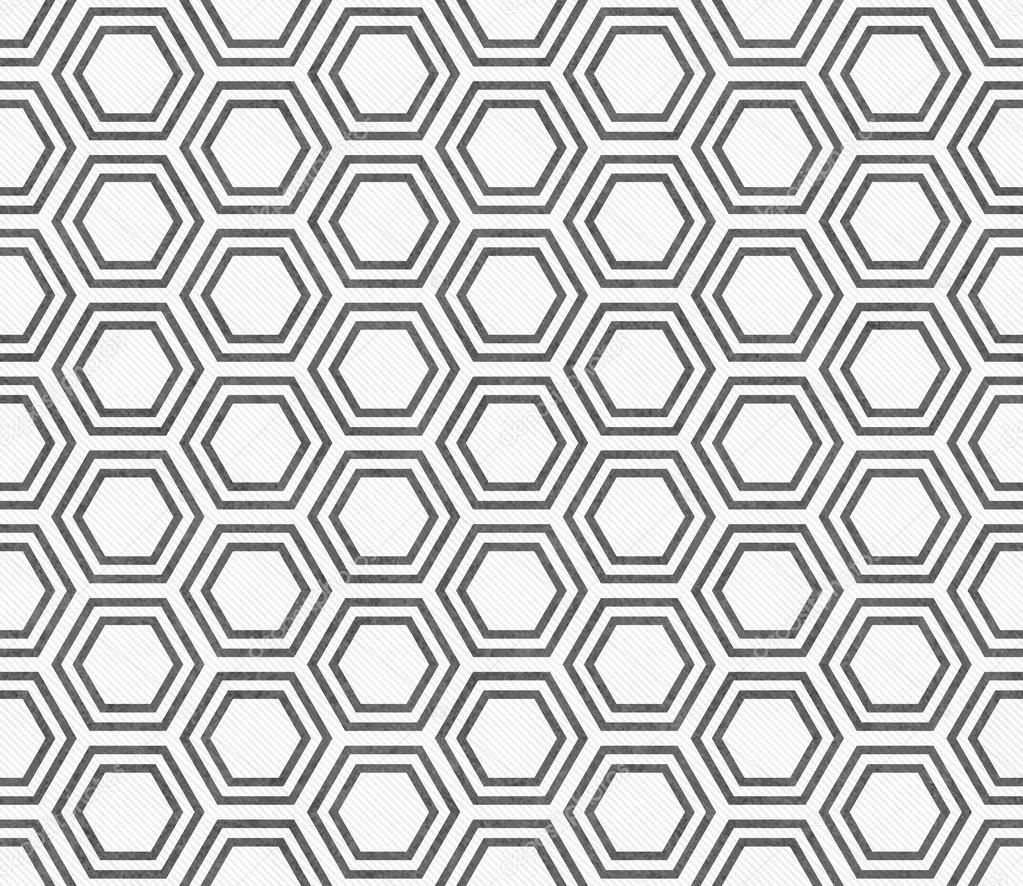 gray and white hexagon tile pattern repeat background stock photo image by c karenr 85207952