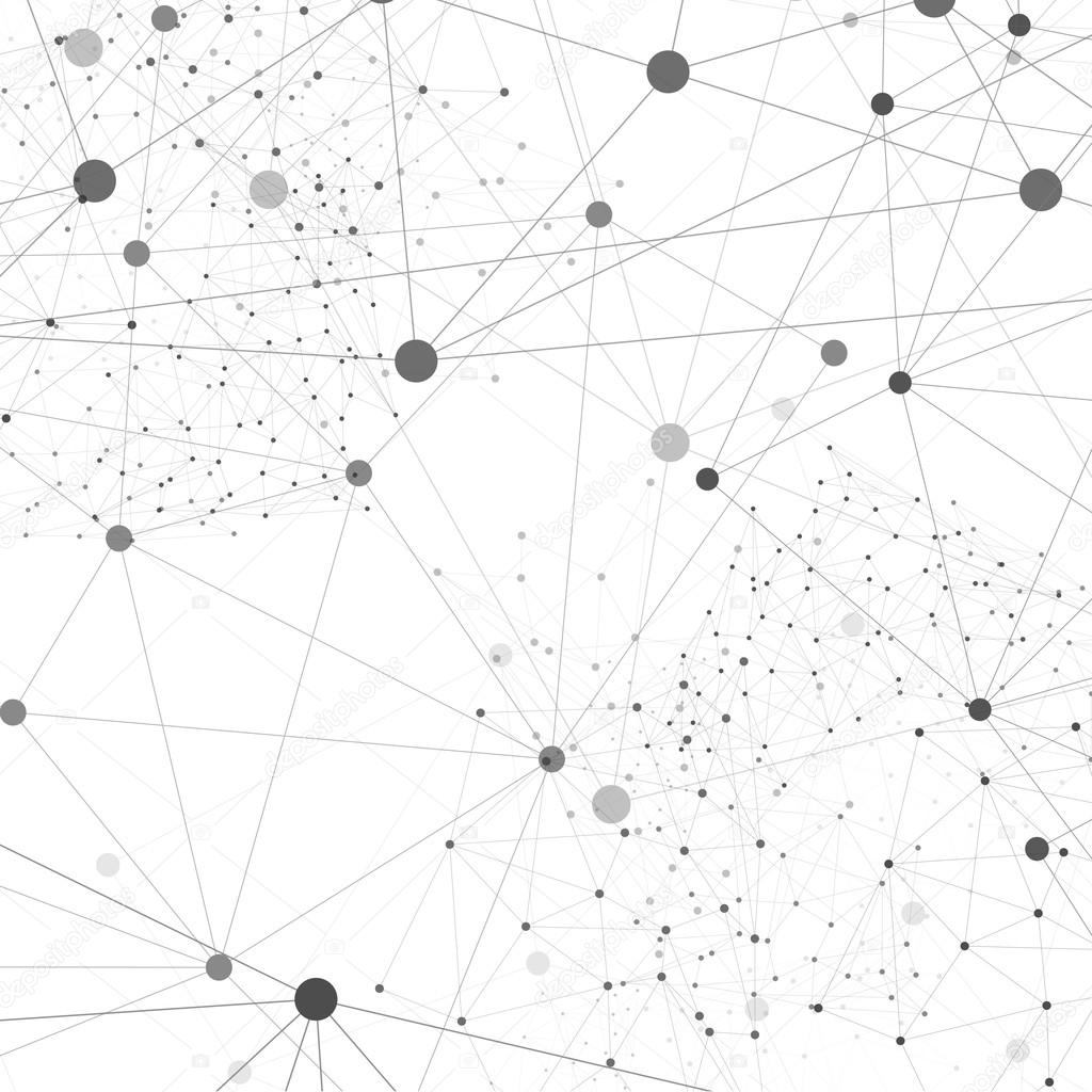 Vector Network Background Abstract Polygon Triangle