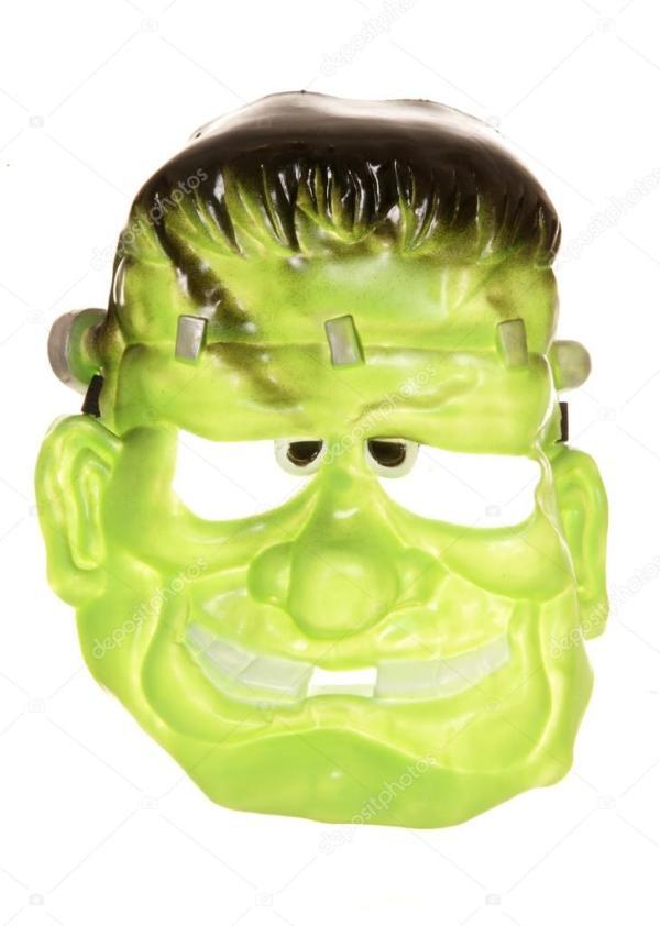Франкенштейн Хеллоуїна маски — Стокове фото ...