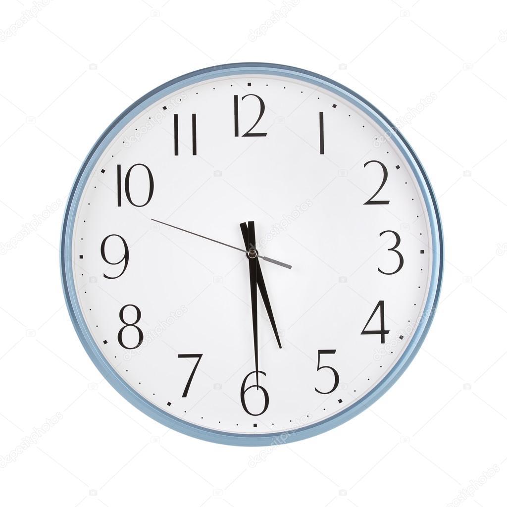 Half Past Five O Clock