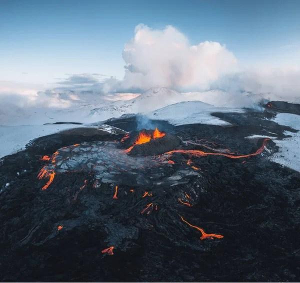 Rhode island is home to many ban. Reykjanes Eruption 2021 Stockfoto Royaltyfrie Reykjanes Eruption 2021 Bilder Depositphotos