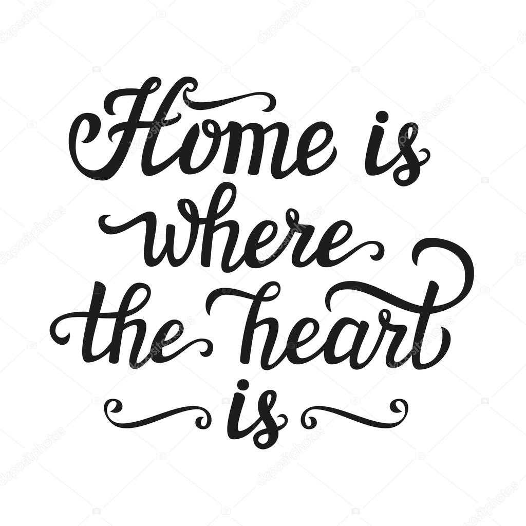 Home Is Where The Heart Is Poster