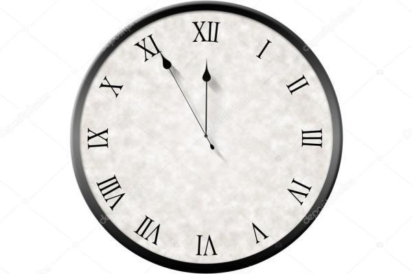 Римская цифра часы, отсчет — Стоковое фото ...