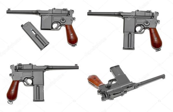 Фото пистолета маузер. Пистолета МАУЗЕР М-72 ...