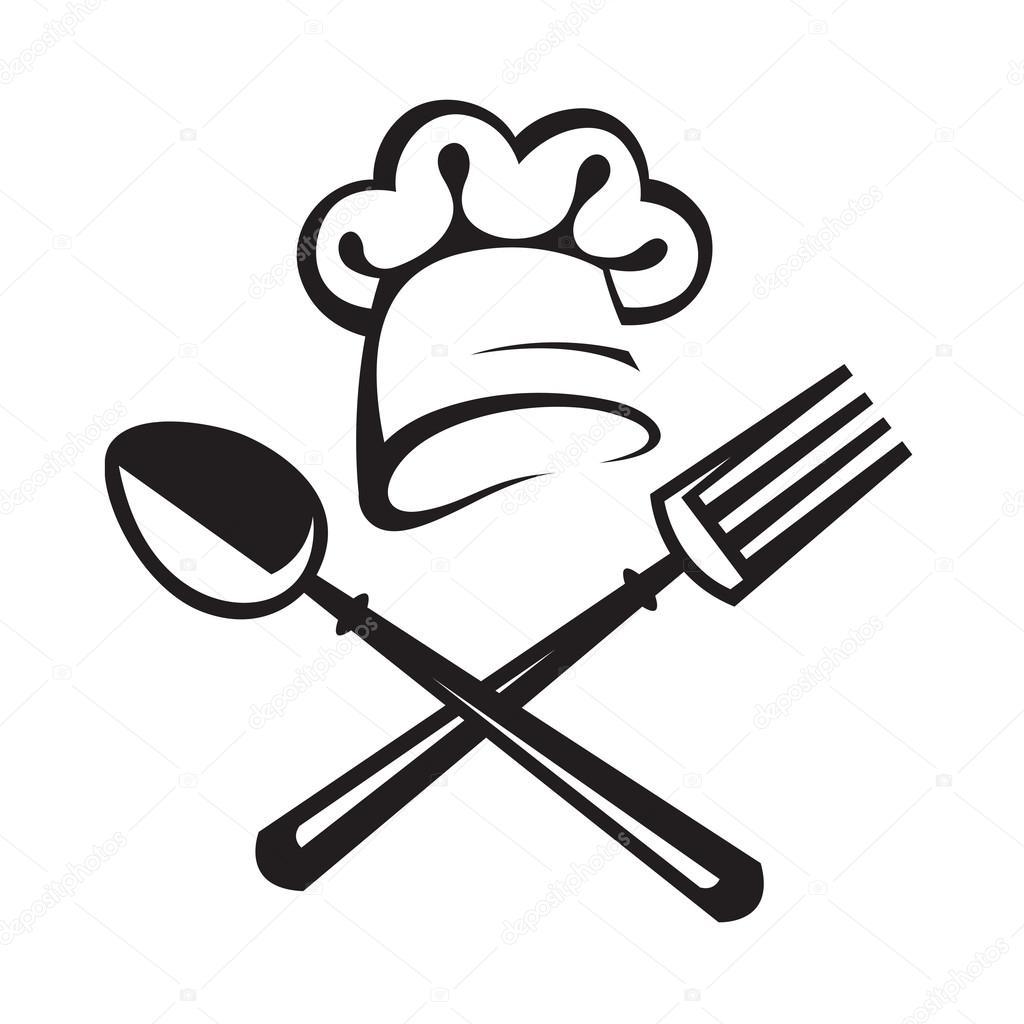 Loffel Gabel Und Chef Hut