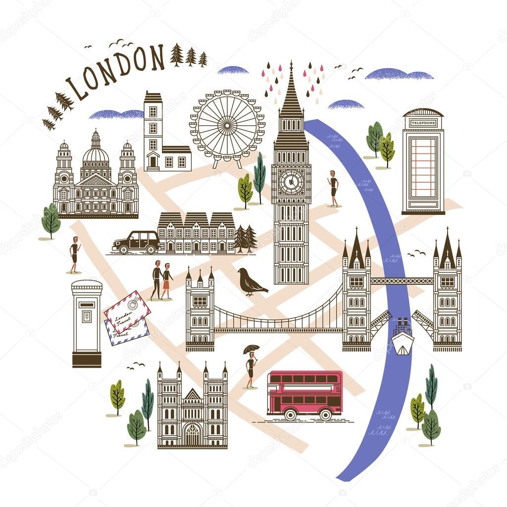 Turisticka Mapa Lond Na