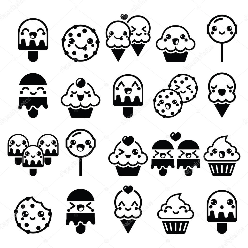 Cute Kawaii Food Characters