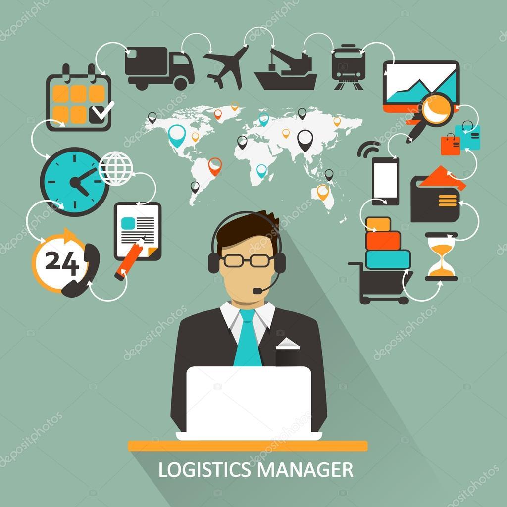 Logistics Manager Freelance Infographic