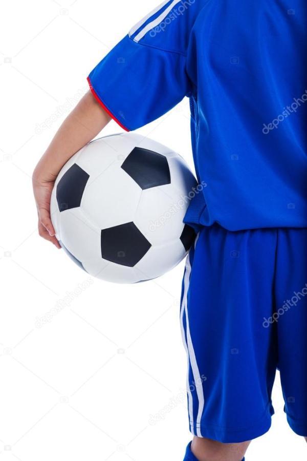 Вернуться мнение молодежи футбол игрок в синей форме ...