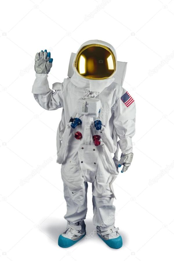 Astronaut standing isolated – Stock Editorial Photo ...