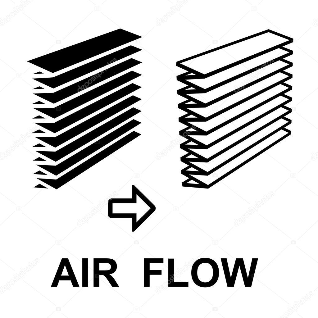 Air Filter Black Symbol