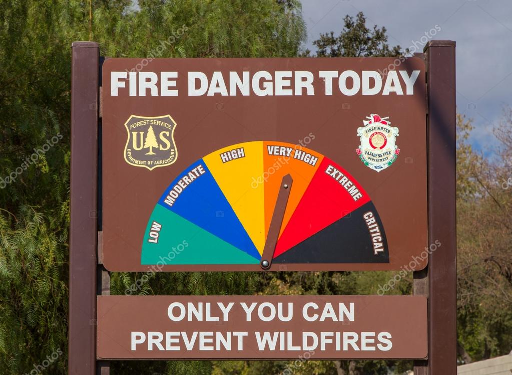 This publication discusses pine wilt and how to control the disease. U S Forest Service Fire Danger Sign Stock Editorial Photo C Wolterke 56493269