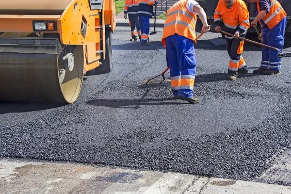 Asphalting city roads | Stock Images Page | Everypixel