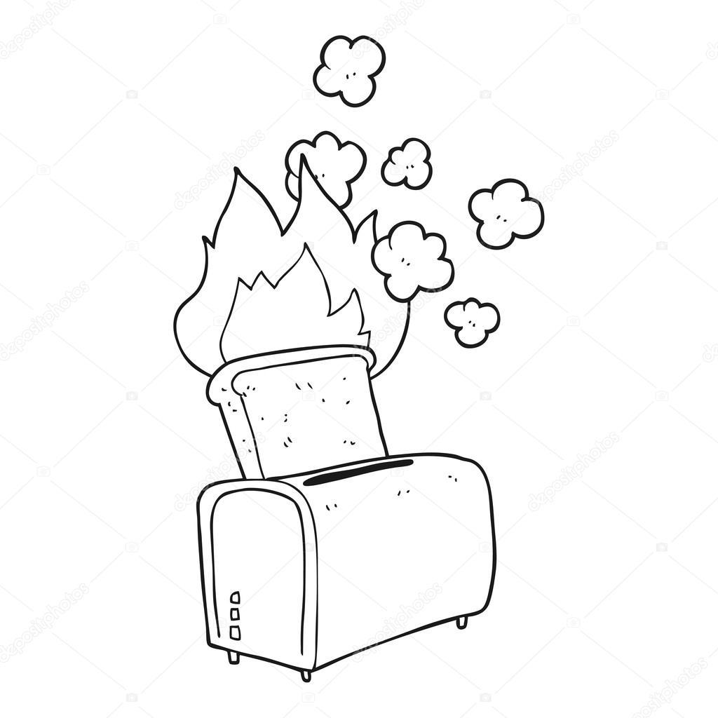 Burnt Toast Clip Art